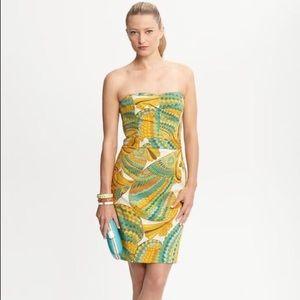 Banana Republic Trina Turk strapless dress